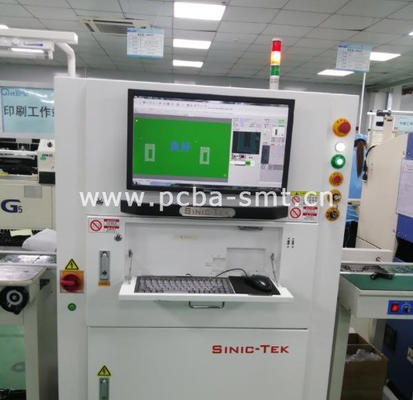 在线3D全自动锡膏检查机SINIC-TEK-SPI