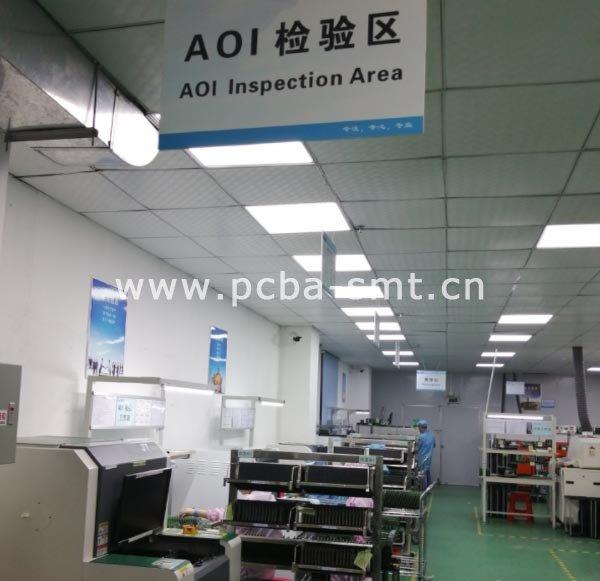 四台AOI光学检测仪同时上