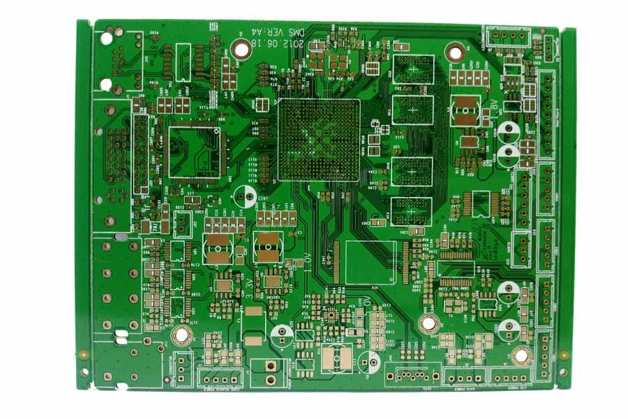 六层高TG沉金PCB电路板生产