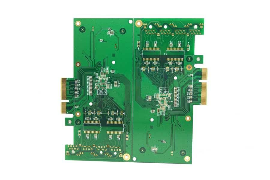 4层阻抗金手指电路板、物联网、服务器、pcb线路板加工