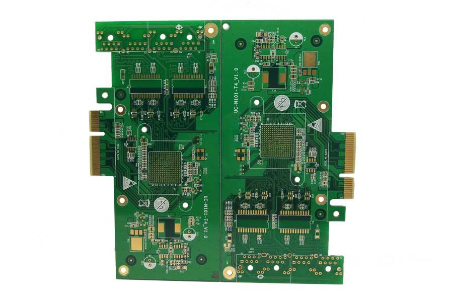 4层阻抗金手指电路板、物联网、服务器、pcb线路