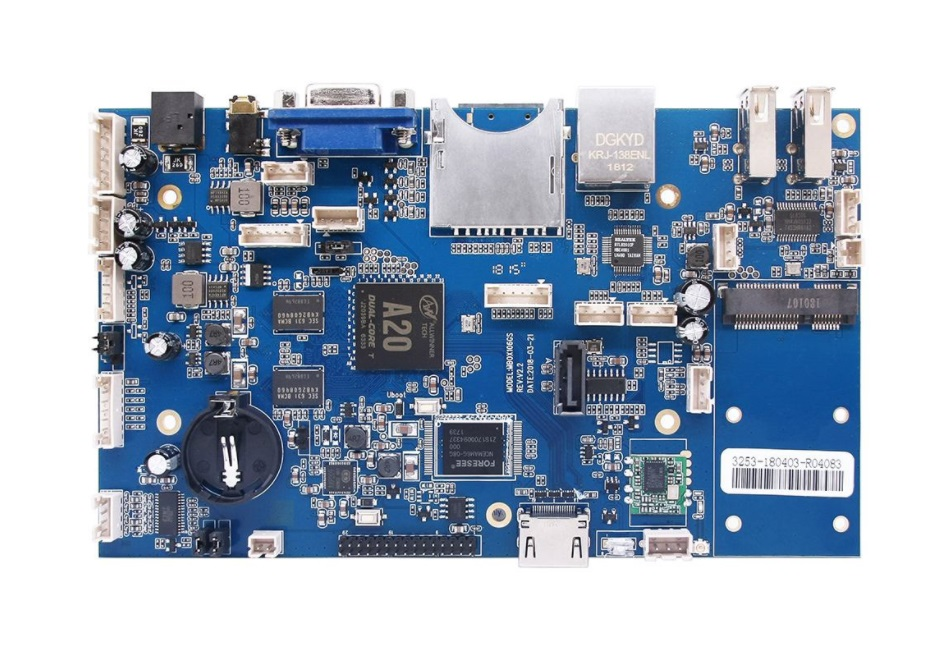 A20 pcba主板smt贴片加工厂_pcba加工插件后焊