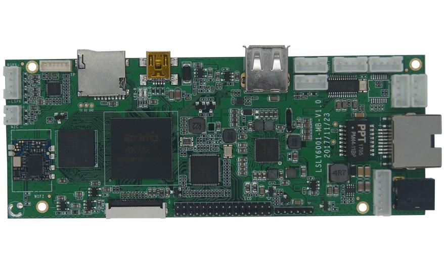 RK3368嵌入式pcba主板smt代加