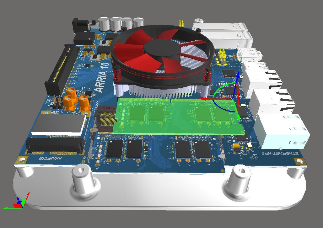 拥有3D组件主体的PCB设计