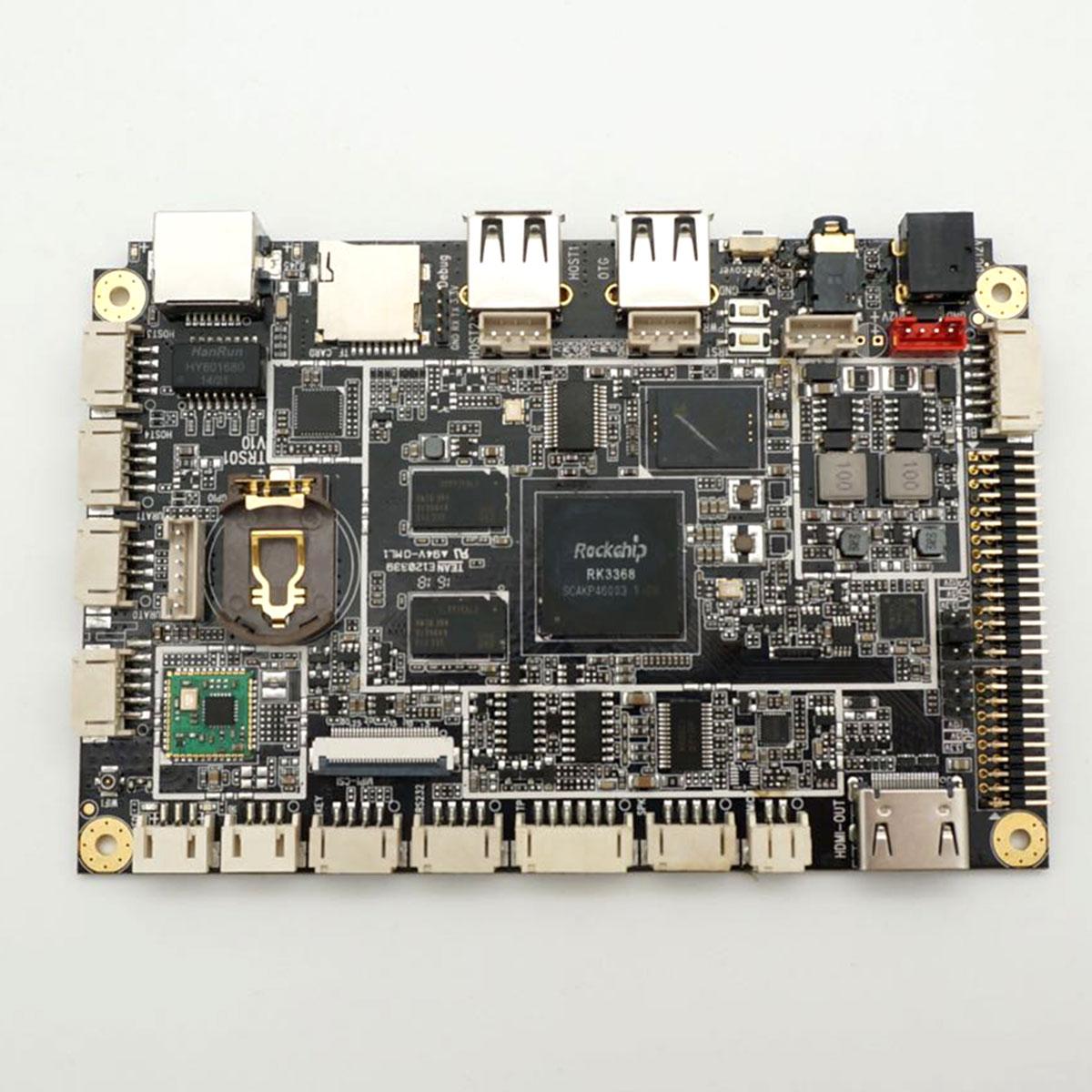 瑞芯微RK3368嵌入式主机,